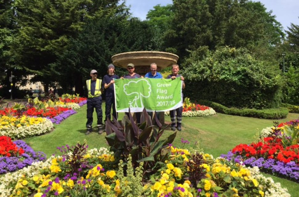 BANES fly the flag as some of the UK's very best green spaces