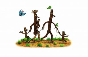 Stick Man trails help youngsters