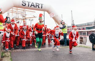 The Bristol Santa run is back!