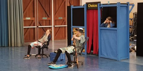 Drama helps Wiltshire's young people think ahead to career choices