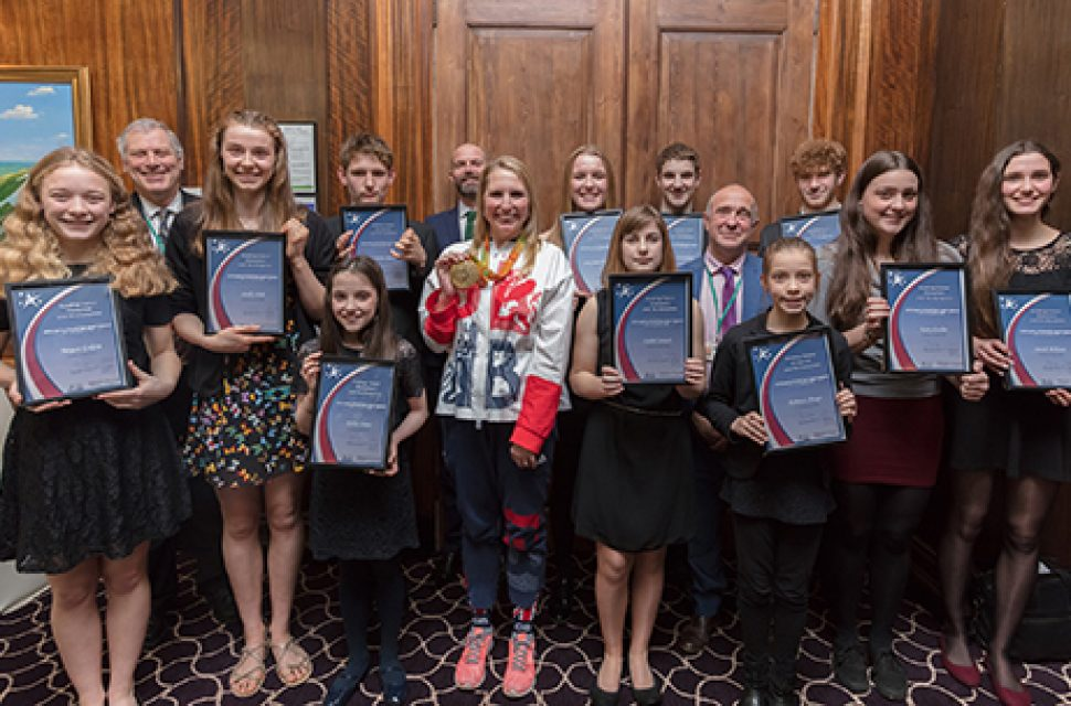 Grants awarded to future sports stars at special ceremony