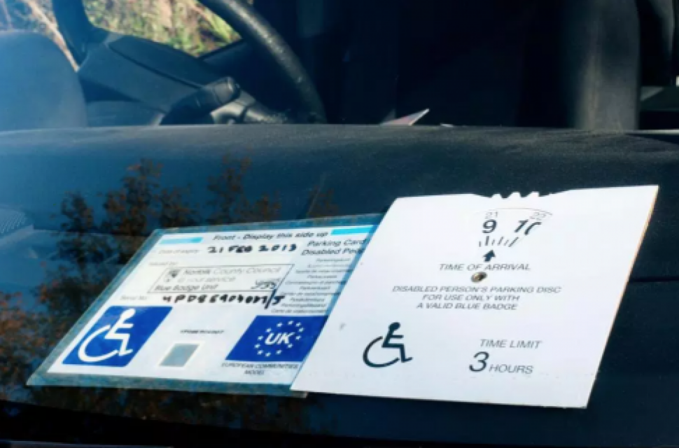 Rules around Blue Badges are changing