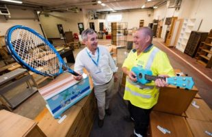 Making a racket about Keynsham's reuse sale