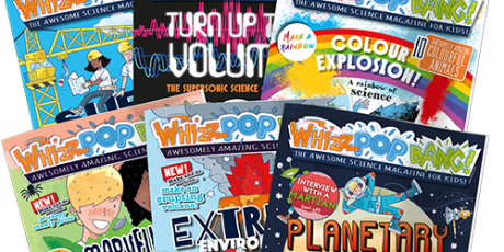 WIN a year's subscription to Whizz Pop Bang