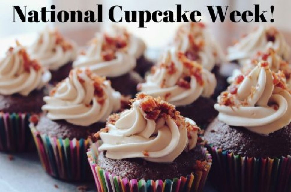National Cupcake Week: Pinata Cupcakes!
