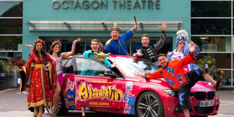 Win tickets to see Aladdin at The Octagon