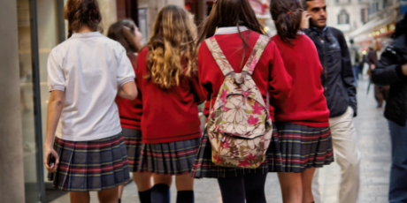 Report finds school girls publicly harassed