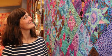 Record-breaking visitor numbers for Kaffe Fassett and Candace Bahouth exhibition at the Victoria Art Gallery