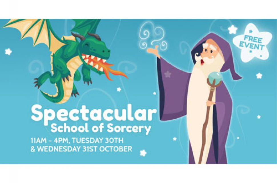 Enrol At The Galleries Spectacular School of Sorcery This Halloween