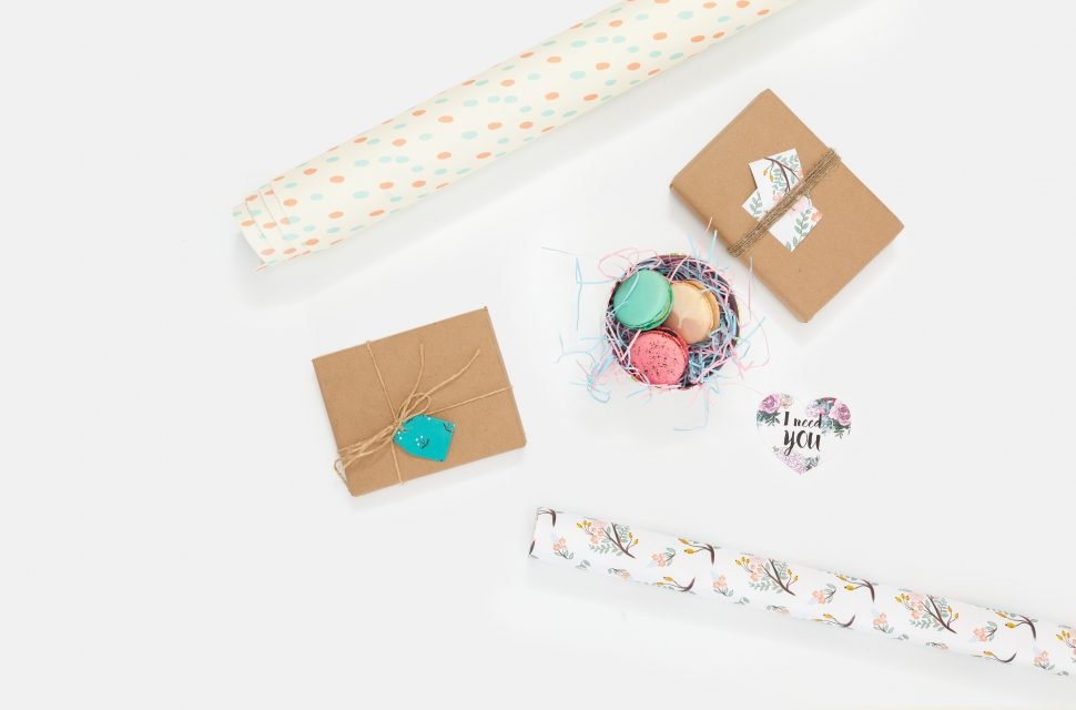 Why not try out some eco-friendly wrapping paper