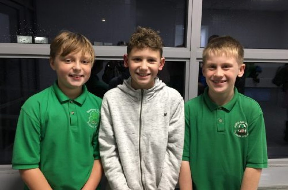Bradley Stoke boys swim the Channel to secure school funding