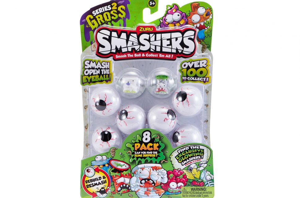 Win an eight pack of Smashers worth £9.99 each