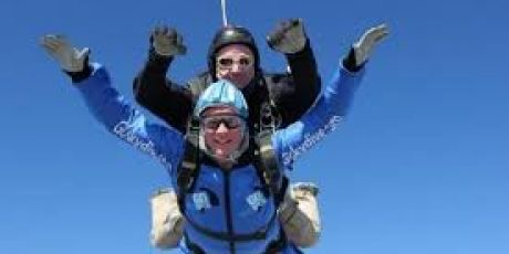 Brave Man will Skydive for Children and Families of Frome