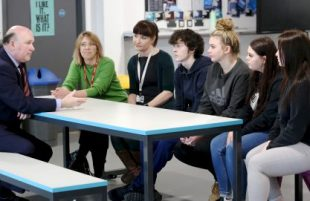 Careers Week sees West of England Mayor and Deputy Mayor visit Careers Hub schools