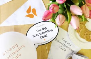 Somerset Families Join National Campaign to Support Breastfeeding Mums This May