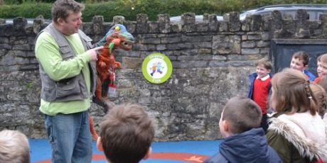 Give a ROAR for the Dinosaurs in Collett Park!