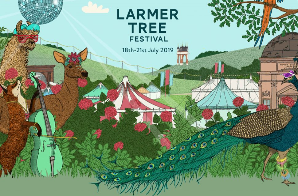 Win tickets for a family of four to Larmer Tree Festival!