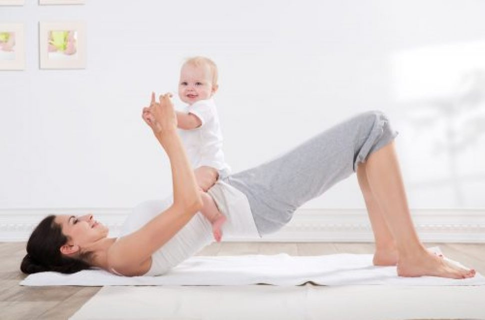 Why you should exercise as a new parent