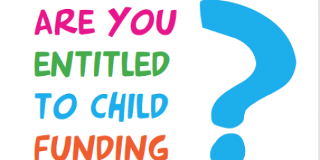 Are you entitled to child funding?