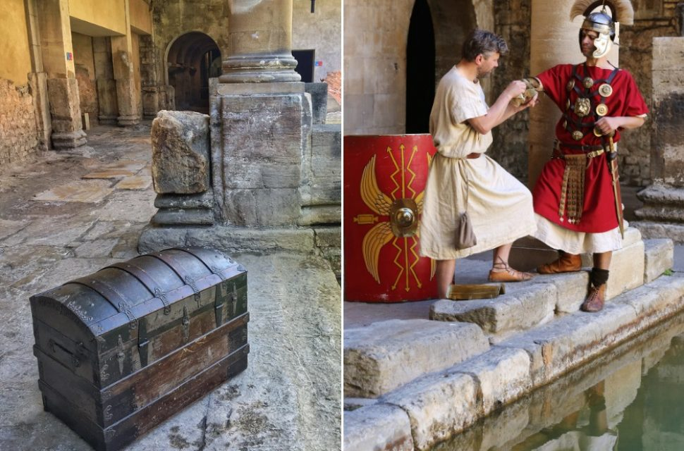 Roman Rescue at the Roman Baths