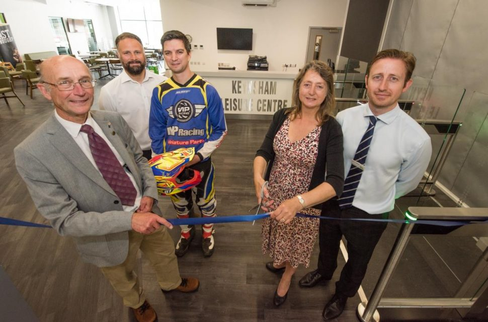 Refurbished facilities at Keynsham Leisure Centre officially opened