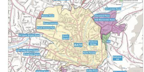 Final consultation on Bath's Clean Air Zone