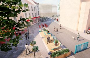 Your views needed on making Bath's Kingsmead Square car-free