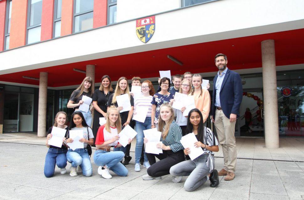 South Gloucestershire celebrates GCSE success