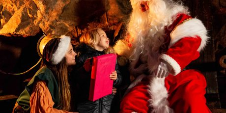 Win a family ticket to Christmas at Cheddar Experience