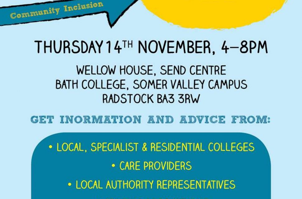 Bath College to host Preparing for Adulthood Fair