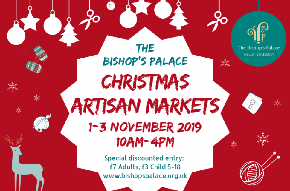 The Bishop's Palace Christmas Artisan Markets are back!