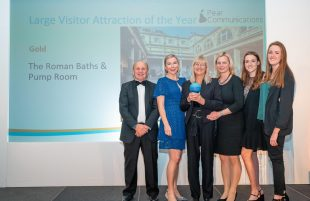 The Roman Baths and Pump Room and Assembly Rooms scoop Bristol, Bath and Somerset Tourism Awards