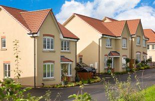 Brand new homes in idyllic Wells