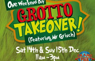 Green-eyed monster prompts grotto takeover