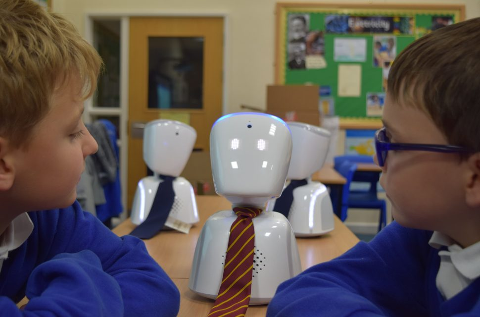 Robot revolution in Somerset classrooms