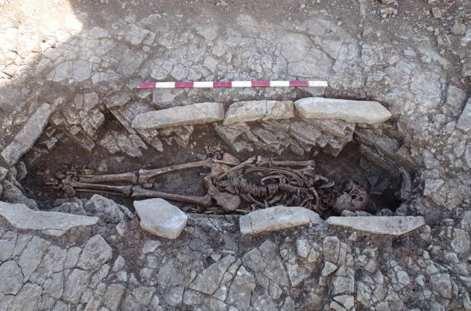 Burials on school site shed light on ancient Somerset