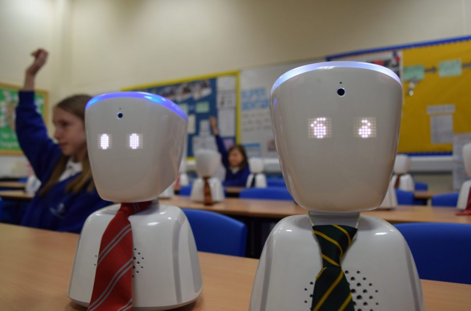 Robot support a big hit for Somerset schools
