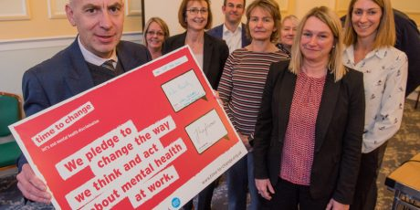 Council signs the Time to Change Pledge