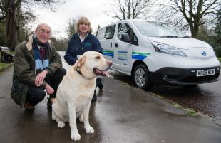 Council invests in clean green transport for dog warden