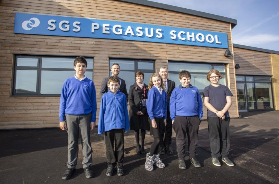 Purpose-built new special school a great environment for learning