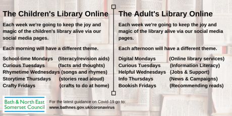 Virtual library keeps the joy and magic of reading alive