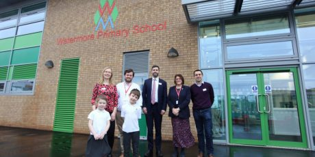 New Watermore Primary School buildings a boost for the whole community