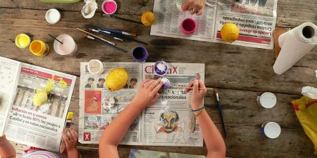 5 minute craft ideas to keep the little ones amused