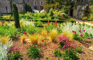 The Bishop's Palace Re-Opens Gardens to the Public