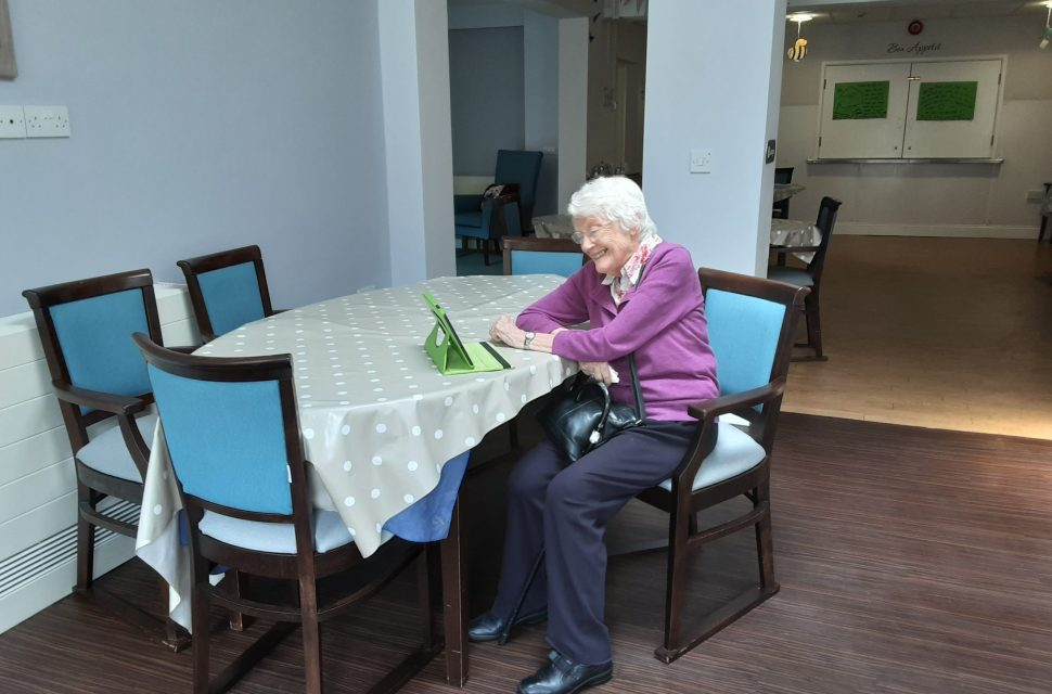 Care homes stay connected during COVID lockdown