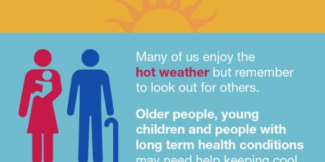 Keep Somerset safe during hot weather