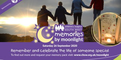 Remember loved ones by moonlight and support Children's Hospice South West