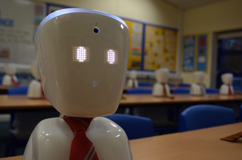 Classroom robots in line for top award