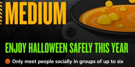 Get Spooky… But stay Safe this Halloween