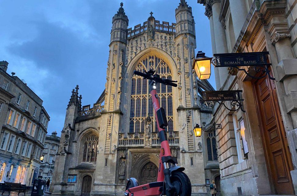 Rental e-scooter scheme starts in Bristol and Bath